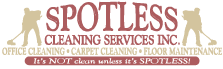 Spotless Cleaning Services Inc. Office Cleaning, Carpet Cleaning, Floor Maintenance